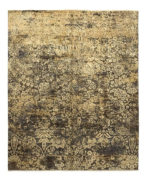 "Timeless Rug Designs CLOSEOUT! One of a Kind OOAK944 Hazelnut 8'3"" x 10'1"" Area Rug"