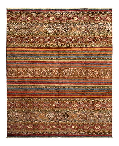 """Timeless Rug Designs CLOSEOUT! One of a Kind OOAK1126 Caramel 8'3"""" x 9'10"""" Area Rug"""