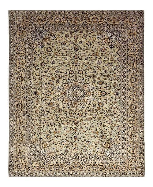 """Timeless Rug Designs CLOSEOUT! One of a Kind OOAK1450 Cream 10' x 13'8"""" Area Rug"""