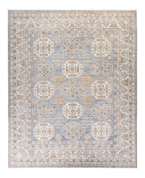 """Timeless Rug Designs CLOSEOUT! One of a Kind OOAK2029 Denim 8"""" x 9'9"""" Area Rug"""