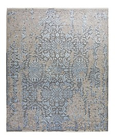 "One of a Kind OOAK2389 Gray 6'1"" x 9'1"" Area Rug"