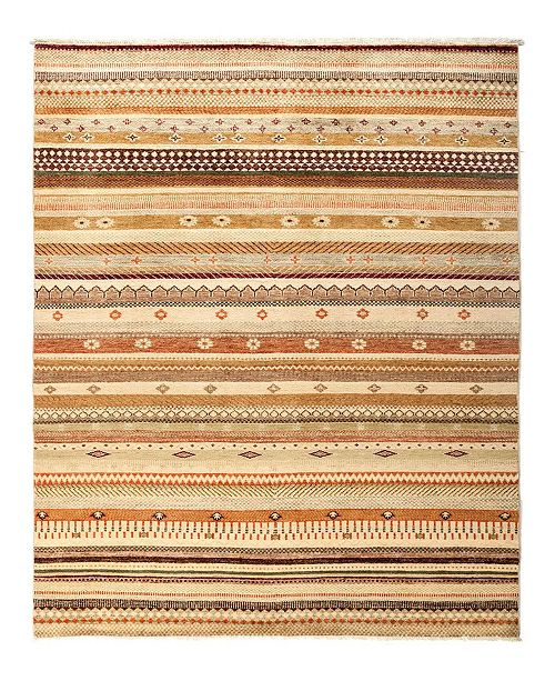 """Timeless Rug Designs CLOSEOUT! One of a Kind OOAK2831 Caramel 5'2"""" x 7'8"""" Area Rug"""