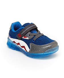 Made2Play Shark Toddler Boys Lighted Athletic Shoe
