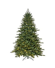7-Foot LED Pre-Lit Green Tree