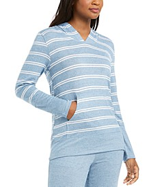 Striped Pajama Hoodie, Created For Macy's
