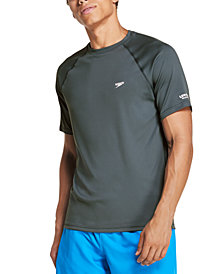 Speedo Men's Quick-Dry UPF 50+ Rash Guard
