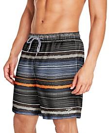 Men's Redondo Striped Swim Trunks