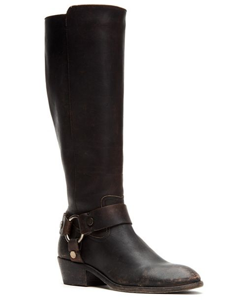 Frye Carson Harness Tall Boots