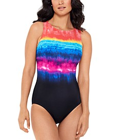 Party In My Cabana Tummy-Control One-Piece Swimsuit