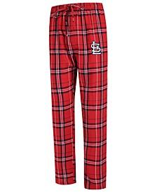 Men's St. Louis Cardinals Hillstone Flannel Pajama Pants