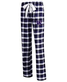Women's Washington Huskies Piedmont Flannel Pajama Pants