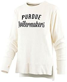 Women's Purdue Boilermakers Cuddle Knit Sweatshirt