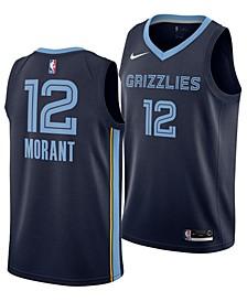 Men's Temetrius Morant Memphis Grizzlies Icon Swingman Jersey
