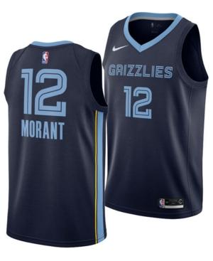 Nike Men's Temetrius Morant Memphis Grizzlies Icon Swingman Jersey
