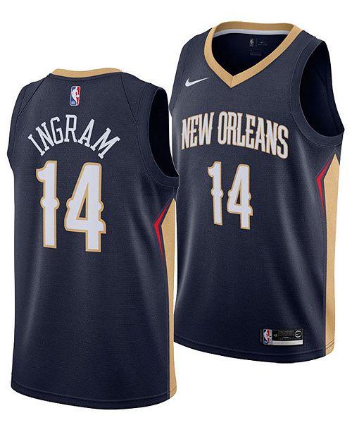 Nike Men's Brandon Ingram New Orleans Pelicans Icon Swingman Jersey