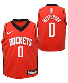 Toddlers Russell Westbrook Houston Rockets Icon Replica Jersey