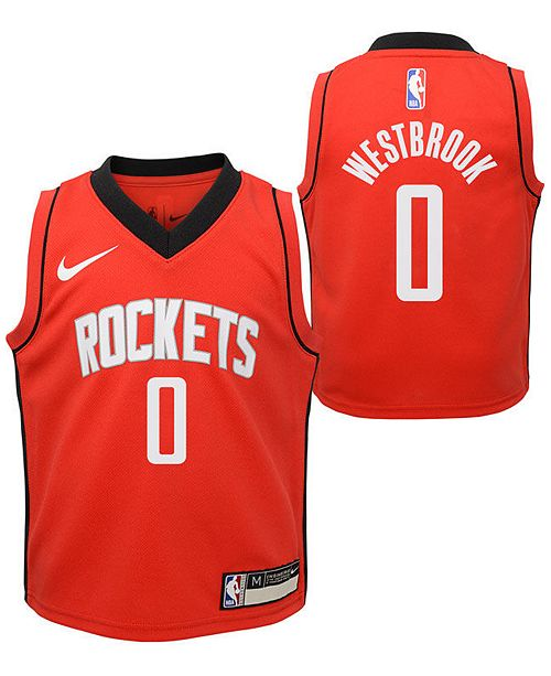 Nike Toddlers Russell Westbrook Houston Rockets Icon Replica Jersey