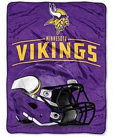 Northwest Company Minnesota Vikings Micro Raschel Franchise Blanket