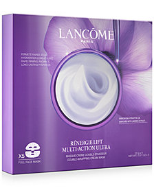 Lancôme Rènergie Lift Multi-Action Ultra Double-Wrapping Cream Face Mask, 5-Pk.