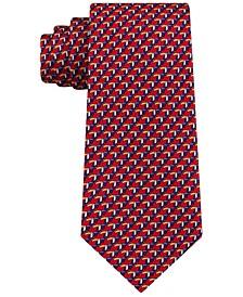 Men's Classic Small Toucan Silk Twill Tie