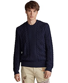 Men's Cotton Long Sleeve Sweater