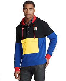 Men's Color-Blocked Hybrid Sweater