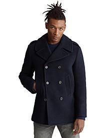 폴로 랄프로렌 Polo Ralph Lauren Mens Wool-Blend Peacoat,Navy
