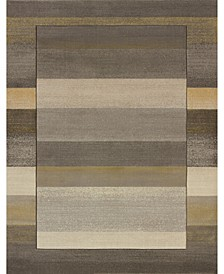 """Contours Native Chic 702 28672 35C Gray 2'7"""" x 4'2"""" Area Rug"""
