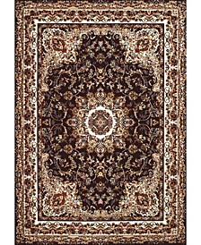 "Antiquities Saraband 1900 01855 33 Brown 2'7"" x 3'11"" Area Rug"