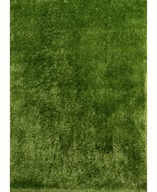 "Bliss Venetia 2300 00124 58 Green 5'3"" x 7'2"" Area Rug"