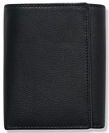 Portfolio Men's Leather Park Avenue Trifold Wallet