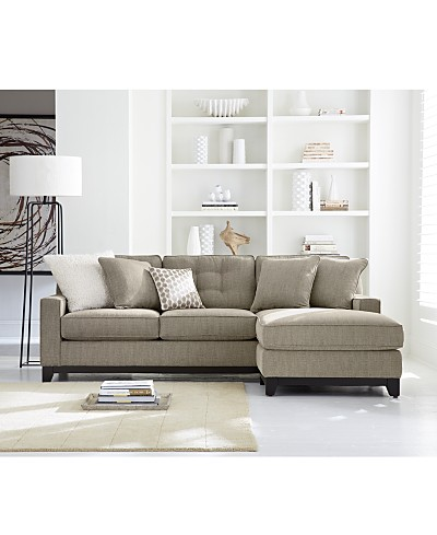 Clarke Fabric Sectional Sofa Living Room Furniture Collection, Created for Macy's