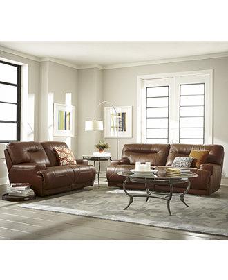 Ricardo Leather Sofa Living Room Furniture Collection