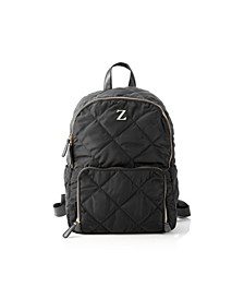 Personalized Quilted Nylon Backpack