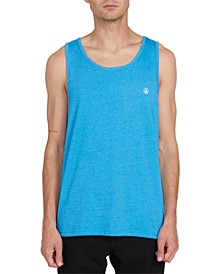 Men's Heathered Cotton Tank