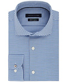 Men's Slim-Fit Non-Iron THFlex Supima® Stretch Check Dress Shirt