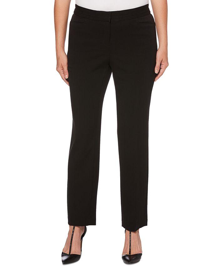 Rafaella - Curvy-Fit Slim-Leg Pants