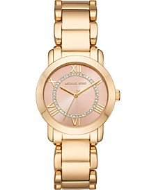 Women's Janey Rose Gold-Tone Stainless Steel Bracelet Watch 33mm