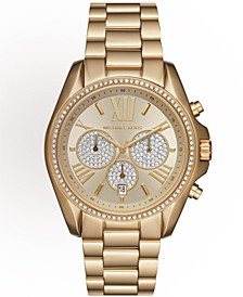Women's Bradshaw Gold-Tone Stainless Steel Bracelet Watch 43mm