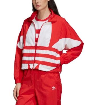 Adidas Originals ADIDAS ORIGINALS WOMEN'S LARGE-LOGO TRACK JACKET