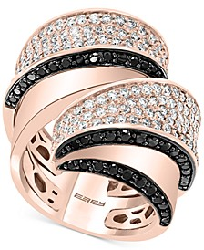 Diamond Swirl Statement Ring (2-3/8 ct. t.w.) in 14k Rose Gold
