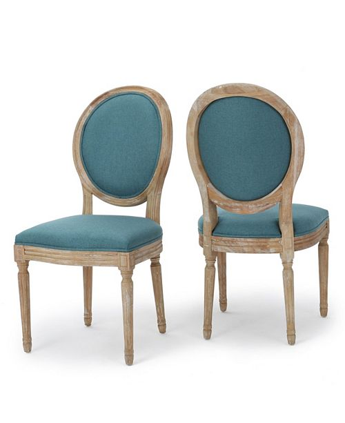 Noble House Cassandra Dining Chair (Set of 2)