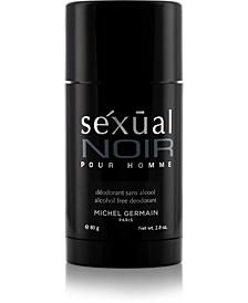 Men's Sexual Noir Pour Homme Deodorant, 3 oz - A Macy's Exclusive