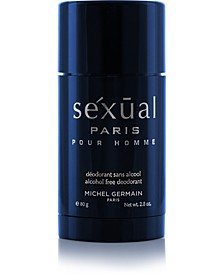 Sexual Paris Pour Homme Deodorant, 2.6 oz