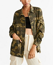 Military-Inspired Style Jacket