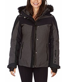 Women's Hooded Ski Jacket