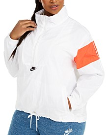 Plus Size Heritage Half-Zip Active Jacket