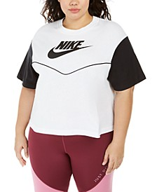 Plus Size Cotton Active T-Shirt