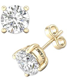 Diamond Stud Earrings (1 ct. t.w.) in 14k Gold