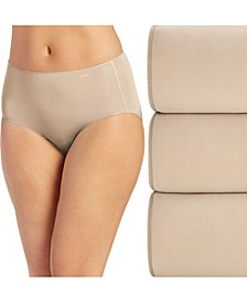 Women's 3-Pk. No Panty Line Promise® Cotton Hipster Underwear 1772
